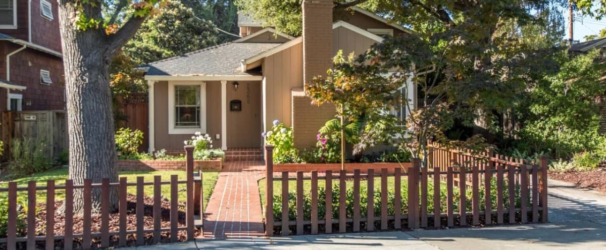 Beautiful Spacious Outdoor Home in Palo Alto Hero Image in Duveneck/St. Francis, Palo Alto, CA