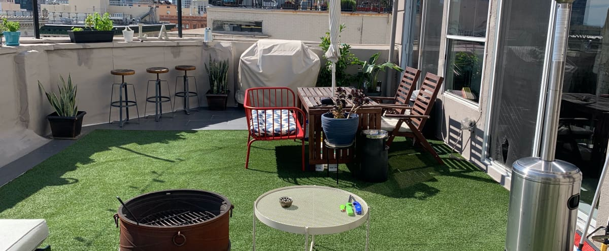 Beautiful Downtown 3 Story Penthouse with City & Sky View in Los Angeles Hero Image in Central LA, Los Angeles, CA