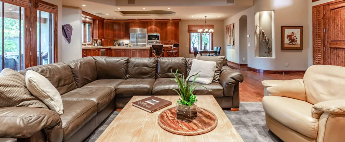Film/Photo Location: Nicely Appointed Southwestern Theme Home in Phoenix, Arcadia Neighborhood in Phoenix Hero Image in Squaw Peak Villa, Phoenix, AZ
