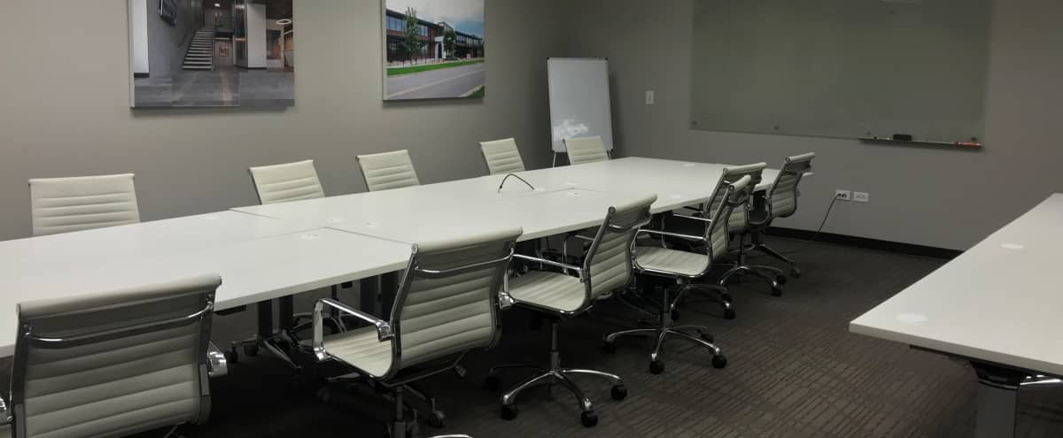 Spacious, well lit conference room for 20 in Denver Hero Image in Sunnyside, Denver, CO