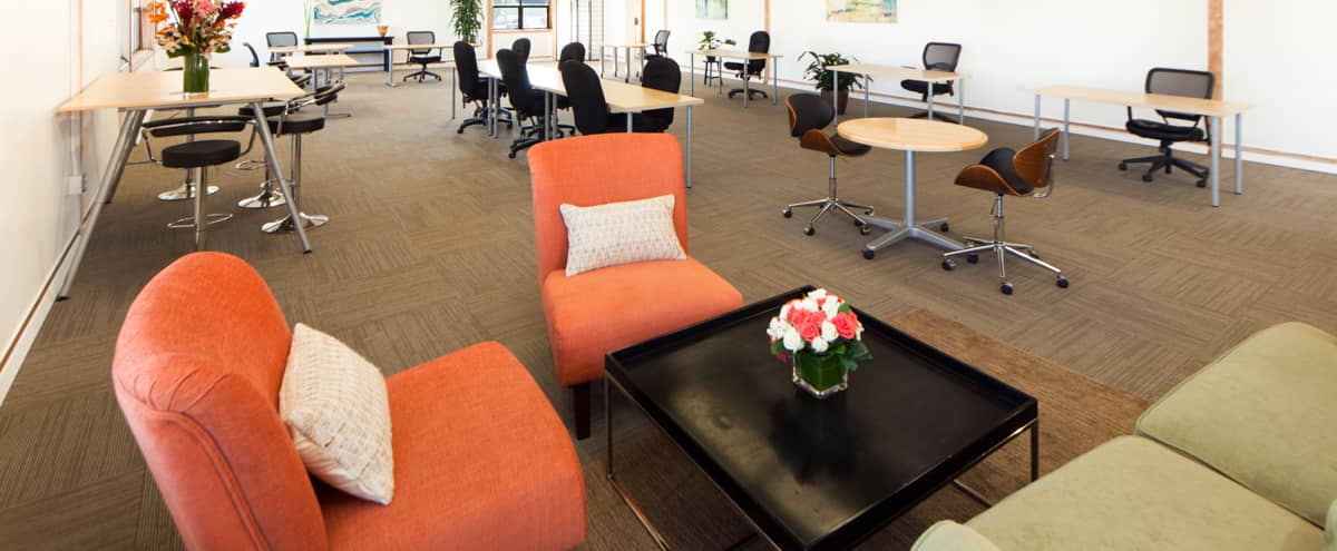 Furnished Office or Workshop Space with Lounge and Courtyard in San Francisco Hero Image in Treasure Island, San Francisco, CA