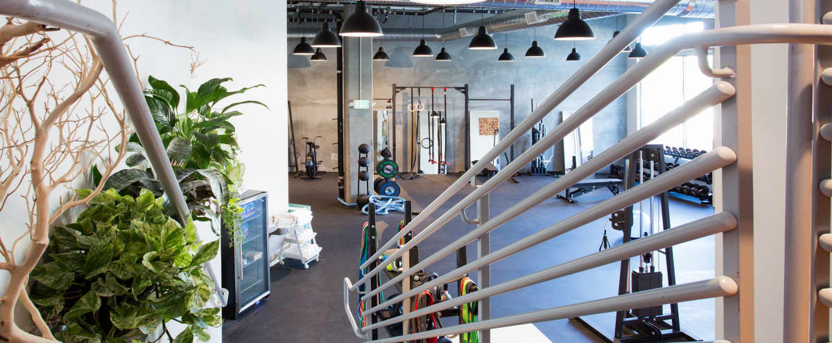 Industrial Fitness & Nutrition Studio on Market St., 2100sq/ft, open floor plan, south facing, great light in San Francisco Hero Image in Hayes Valley, San Francisco, CA