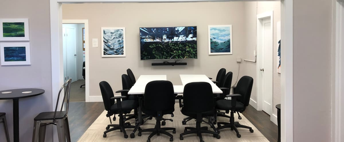 Spacious West Seattle Office Meeting/Conference Room & Event Space in Seattle Hero Image in North Admiral, Seattle, WA