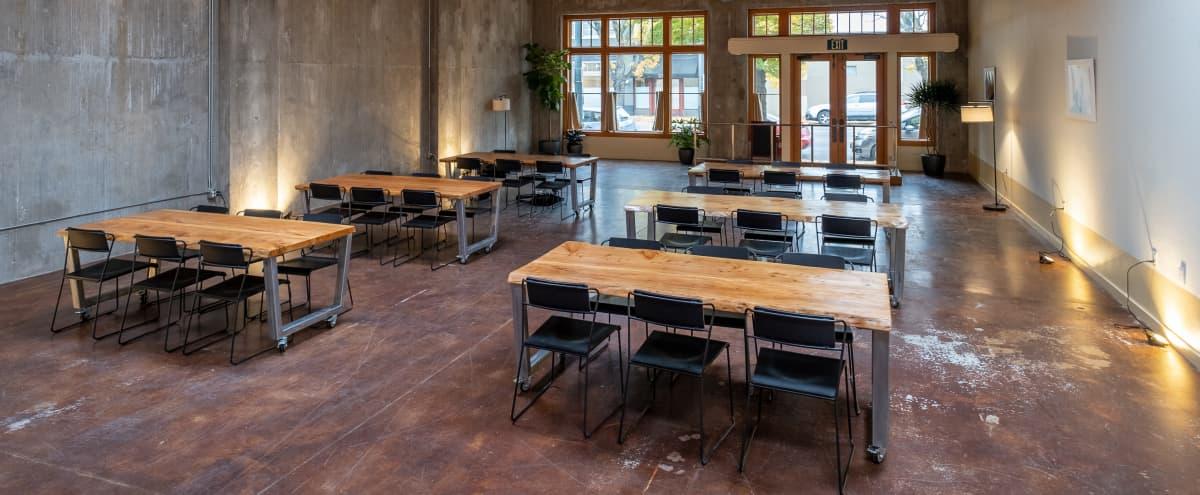 Spacious and Industrial Meeting Venue in Portland Hero Image in Southeast Portland, Portland, OR
