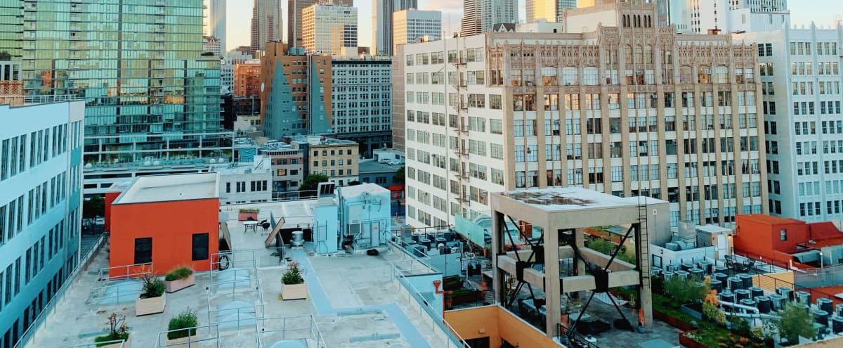 Downtown LA Rooftop View in Los Angeles Hero Image in Downtown Los Angeles, Los Angeles, CA
