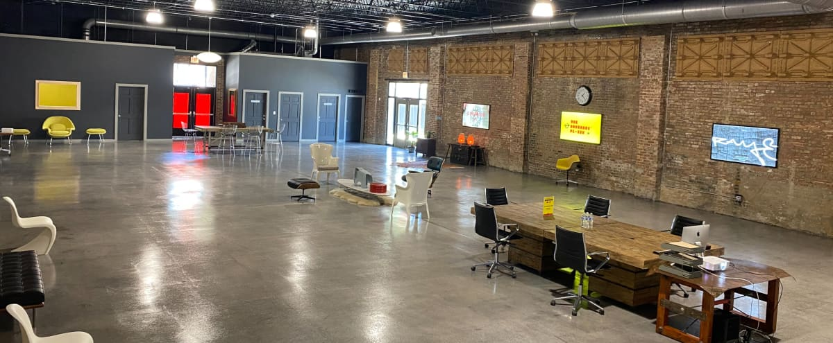 Innovative, Design Forward, Industrial Loft Warehouse - Event, Production, and Offsite Meeting Space in Chicago Hero Image in Lower West Side, Chicago, IL