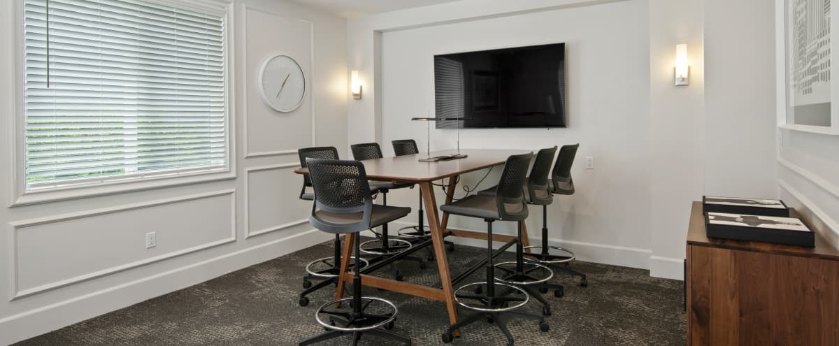 Conference Room 1 great for small meetings in Costa Mesa Hero Image in Mesa Verde, Costa Mesa, CA