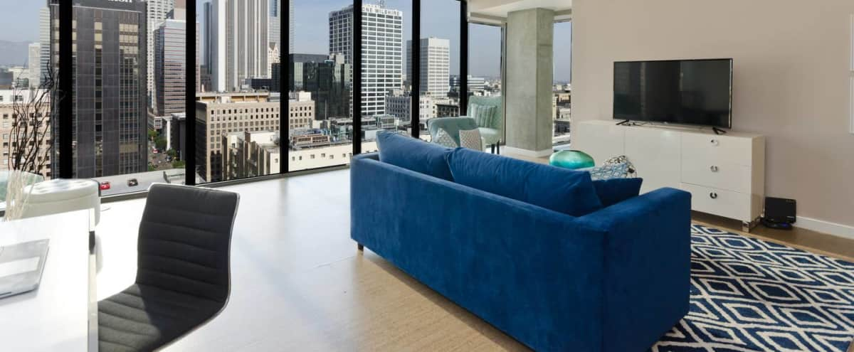 Downtown LA All Windows Penthouse in Los Angeles Hero Image in South Park, Los Angeles, CA