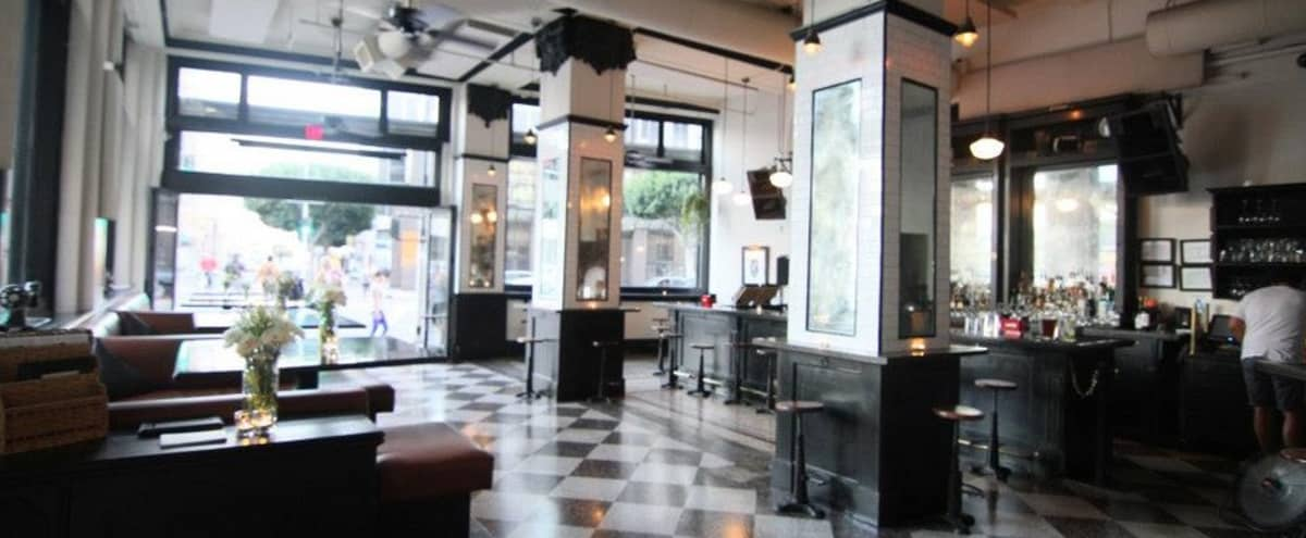 Downtown LA fashion district bar/restaurant with chic New York feel in Los Angeles Hero Image in South Park, Los Angeles, CA