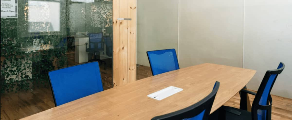 Private 4 Person Office / Meeting Space (E) in Philadelphia Hero Image in Center City, Philadelphia, PA