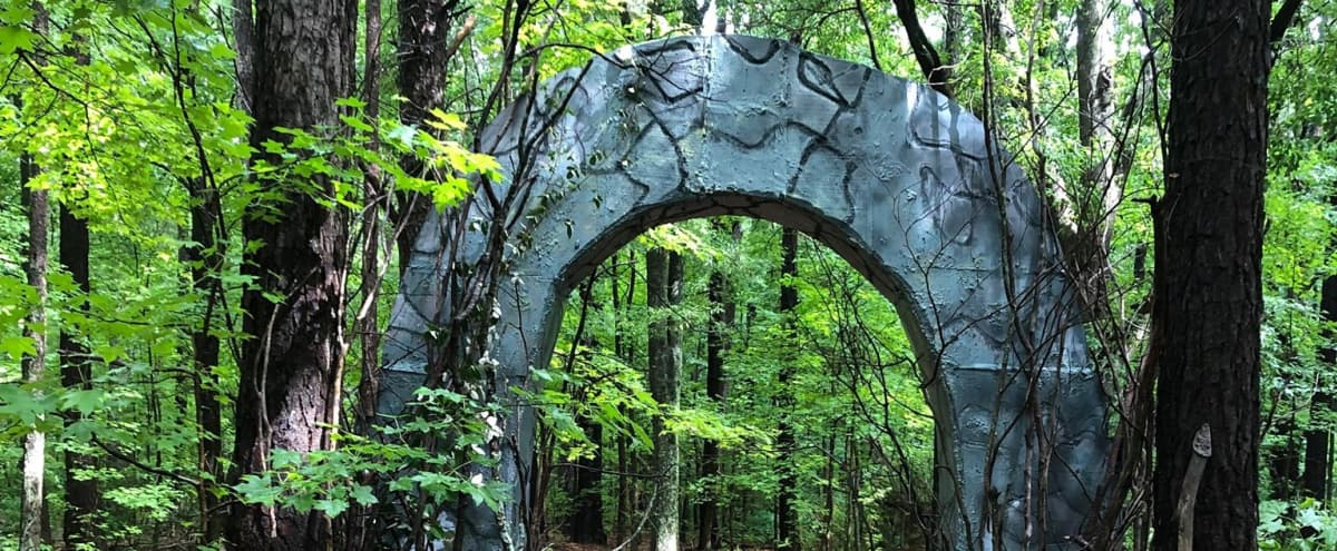 Archway in the woods in Fayetteville Hero Image in undefined, Fayetteville, GA