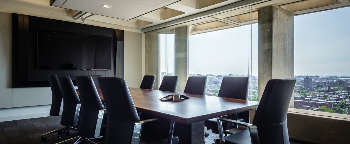Luxury Boardroom in Back Bay with the Best View of Boston in Boston Hero Image in Fenway/Kenmore, Boston, MA
