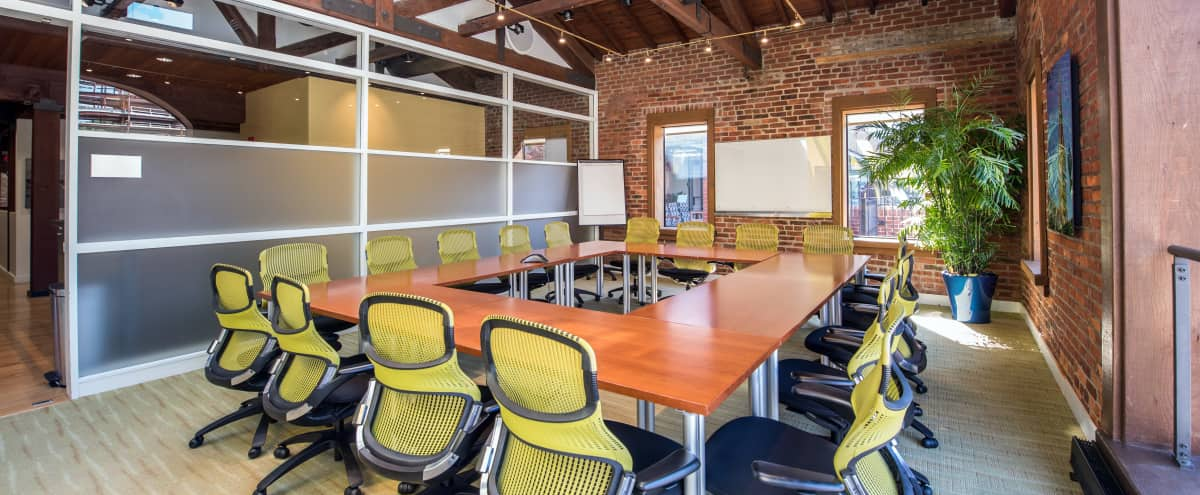 Exposed brick Boardroom in the heart of Georgetown in Washington Hero Image in Northwest Washington, Washington, DC