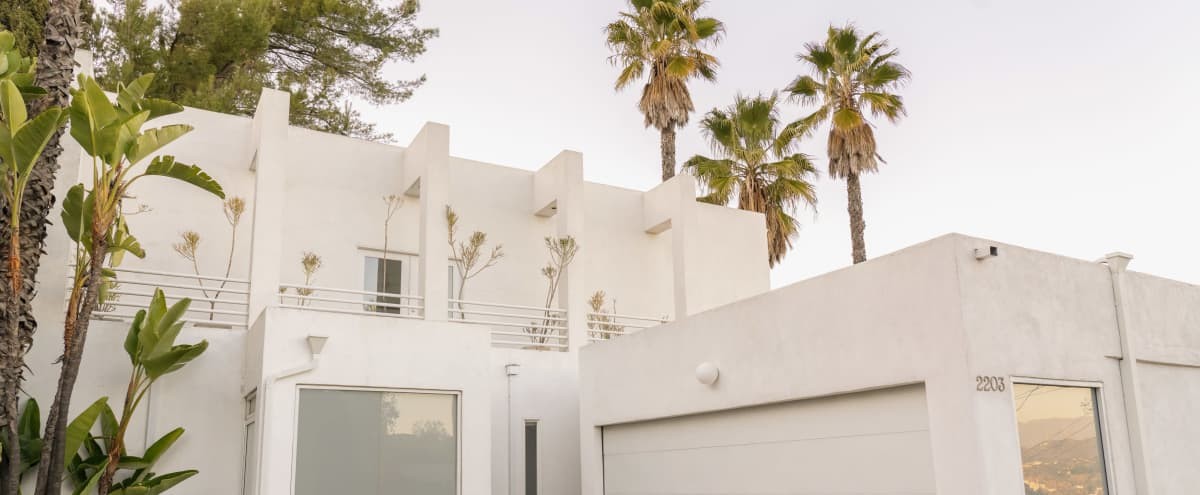Hollywood Hills Home. Modern, View of Hills, Spacious, Garage Turned Office in West Hollywood Hero Image in Central LA, West Hollywood, CA