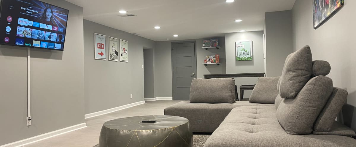 Modern 5BR Ranch Home w/ Game Room & Fireplace in Indianapolis Hero Image in undefined, Indianapolis, IN