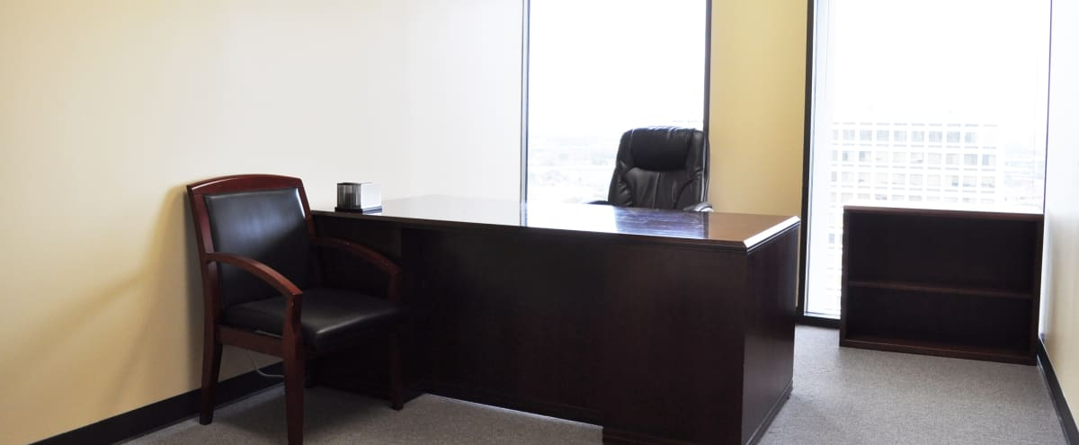 Executive Office with Skyline Views near The Galleria in Houston Hero Image in Sharpstown, Houston, TX