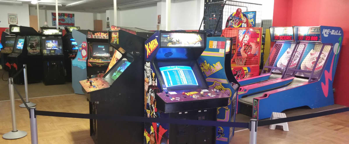 Retro arcade - 1980's/90's vintage video and pinball arcade and game room in Lombard Hero Image in undefined, Lombard, IL