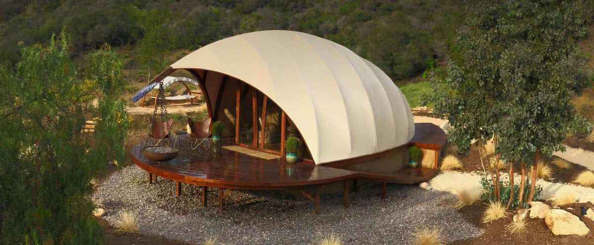 Futuristic Cocoon with Amazing Mountain Views in Malibu Hero Image in undefined, Malibu, CA