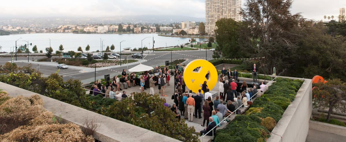Mid-Century Modern Museum in Oakland Outdoor Event Space with Best View of Lake Merritt in Oakland Hero Image in Downtown Oakland, Oakland, CA