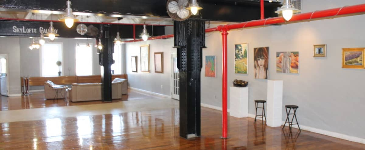 2000 Sq. Ft. Flexible Gallery Space in Baltimore Hero Image in Highlandtown, Baltimore, MD