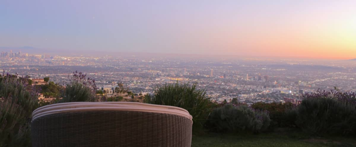 Mid Century Home with 360 Views in Los angeles Hero Image in Hollywood Hills, Los angeles, CA