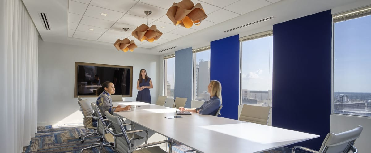 Sleek Board Room with Park Views in the Heart of Downtown Tampa in Tampa Hero Image in Downtown, Tampa, FL