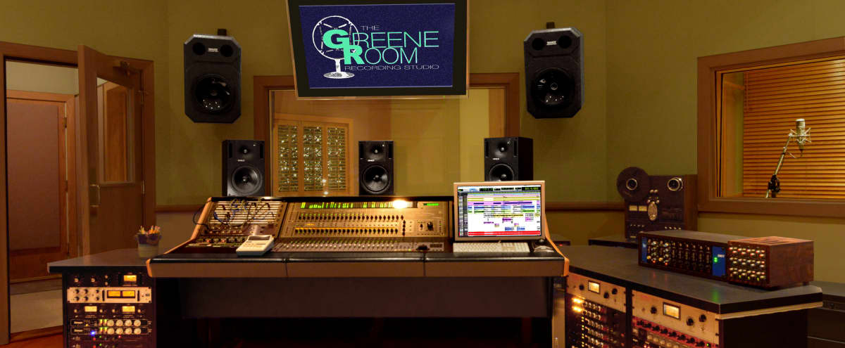 Residential Area Isolated Commercial Recording Facility in Van Nuys Hero Image in Valley Glen, Van Nuys, CA