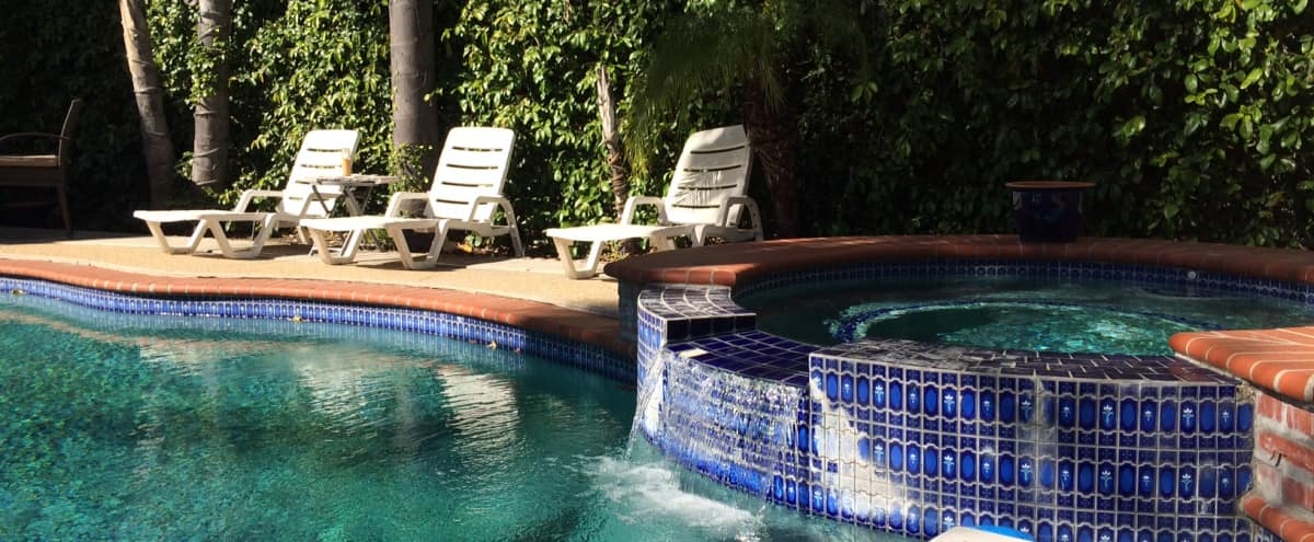 House with Lush Backyard and Heated Pool, Perfect For Events in Los Angeles Hero Image in Central LA, Los Angeles, CA