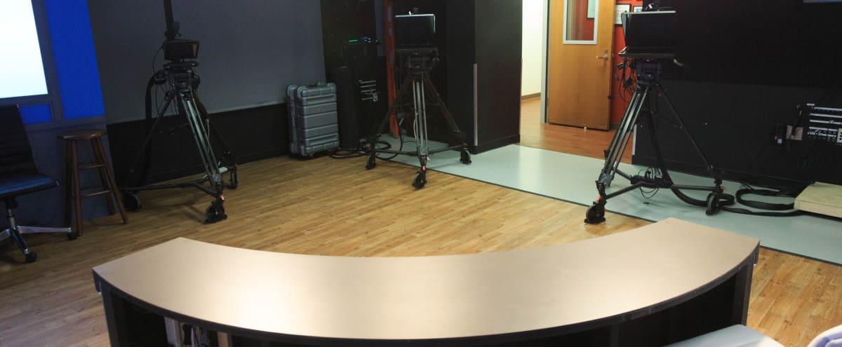 Washington DC TV broadcasting Studio w/State-of-the-Art Equipment in Arlington Hero Image in Court House, Arlington, VA
