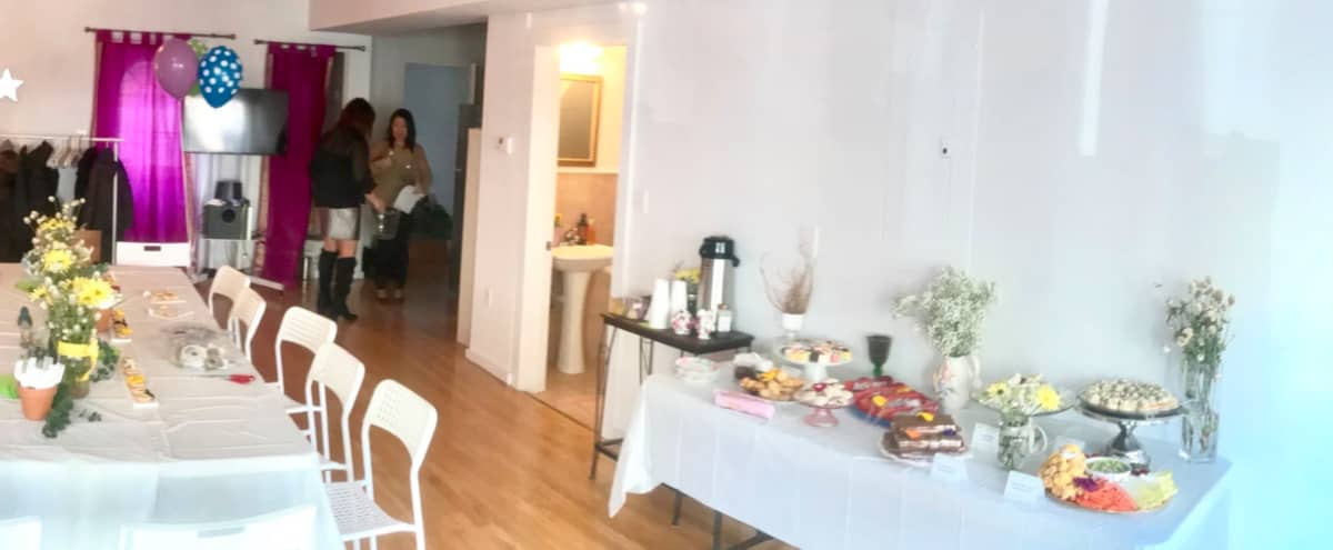 1000 sf glass Storefront, floods of light, kitchenette, 2 bathrooms, high ceilings- Perfect for Meetings! in Jersey City Hero Image in Historic Downtown, Jersey City, NJ
