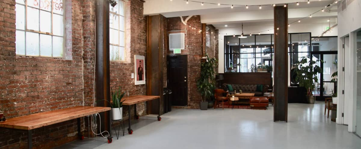 Bright Industrial Style Event Space - Main Gallery (Ground Level) in San Francisco Hero Image in Mission District, San Francisco, CA