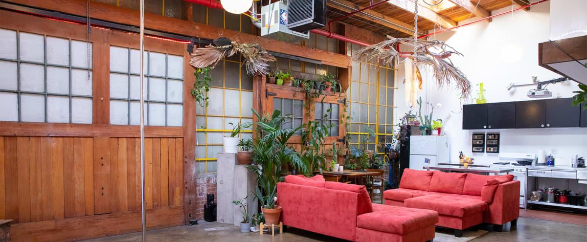 Versatile Downtown Artist Loft with Boho Industrial Vibes in Los Angeles Hero Image in Central LA, Los Angeles, CA