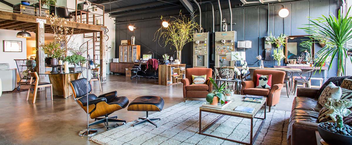 Frogtown Bohemian style Loft/Office Space in Los Angeles Hero Image in Elysian Valley, Los Angeles, CA