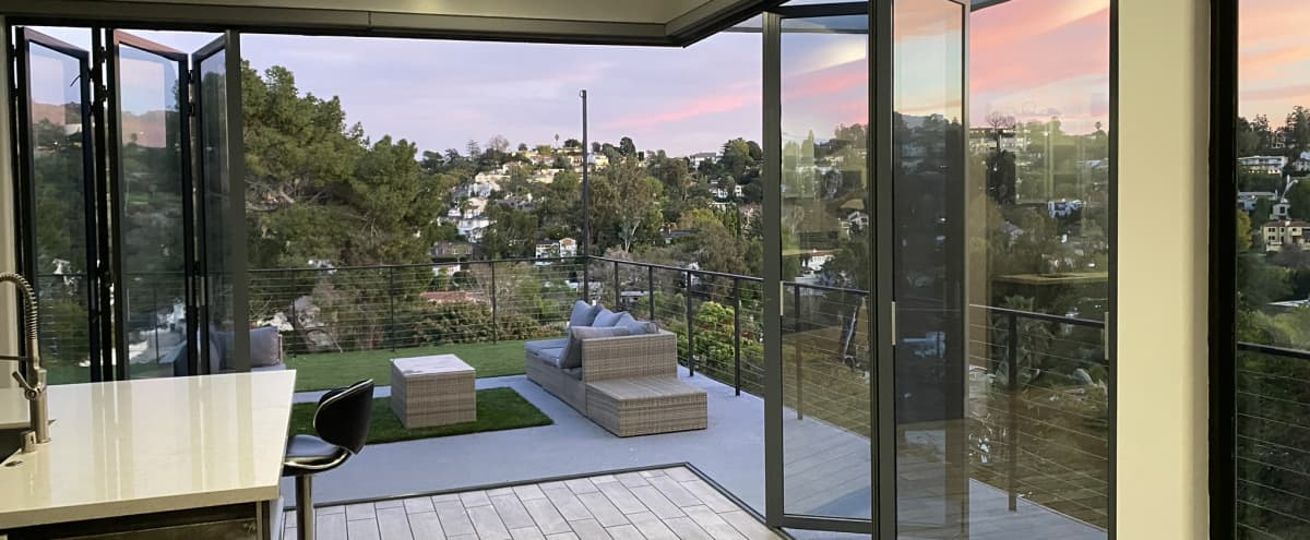 View Hillside Modern Open Air Skyline View in studio city Hero Image in Hollywood Hills, studio city, CA