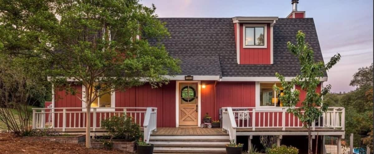 Charming Red Barn-Style Farmhouse in Auburn Hero Image in undefined, Auburn, CA