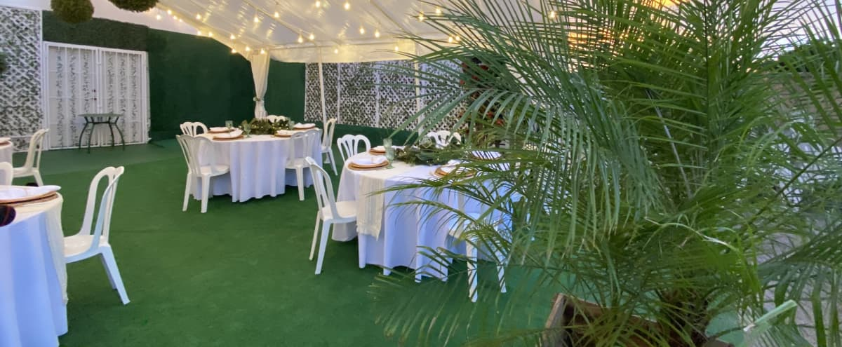 Beautiful Chic Boho Event & Wedding Venue with Bar, Reception Hall & Gorgeous Tented Patio in Burbank Hero Image in undefined, Burbank, CA