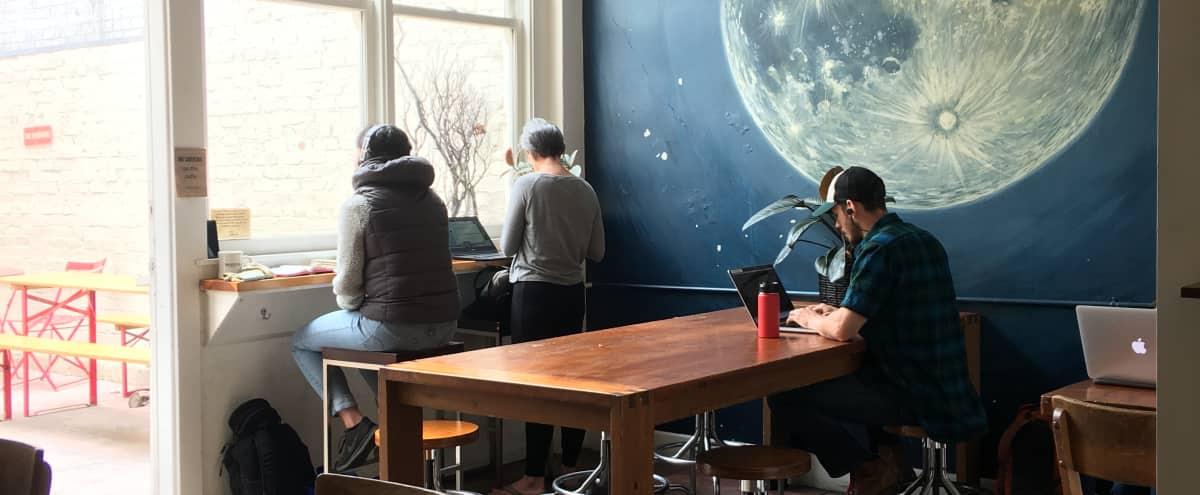 Creative Meeting Room with Full Cafe Amenities in Berkeley Hero Image in Poets Corner, Berkeley, CA