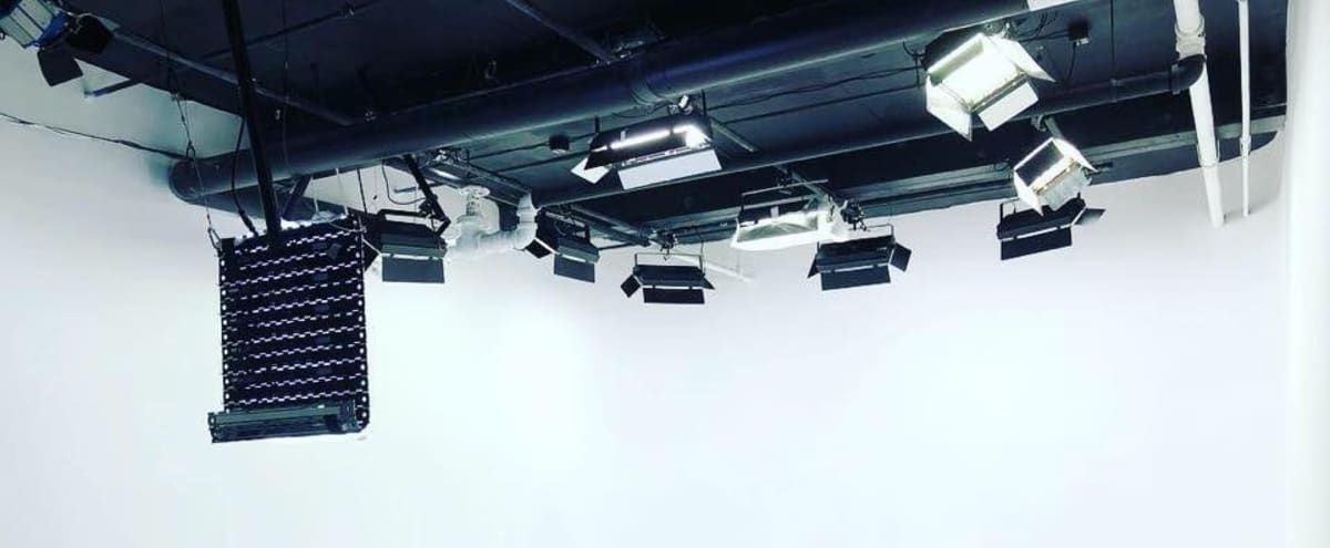 LIT CYCLORAMA SOUND STAGE NOVEMBER SPECIAL  Production Studio (f/ 3 Wall U Shape Cyc). Conveniently located in Hoboken, NJ steps away from NYC & public transportation in Hoboken Hero Image in undefined, Hoboken, NJ