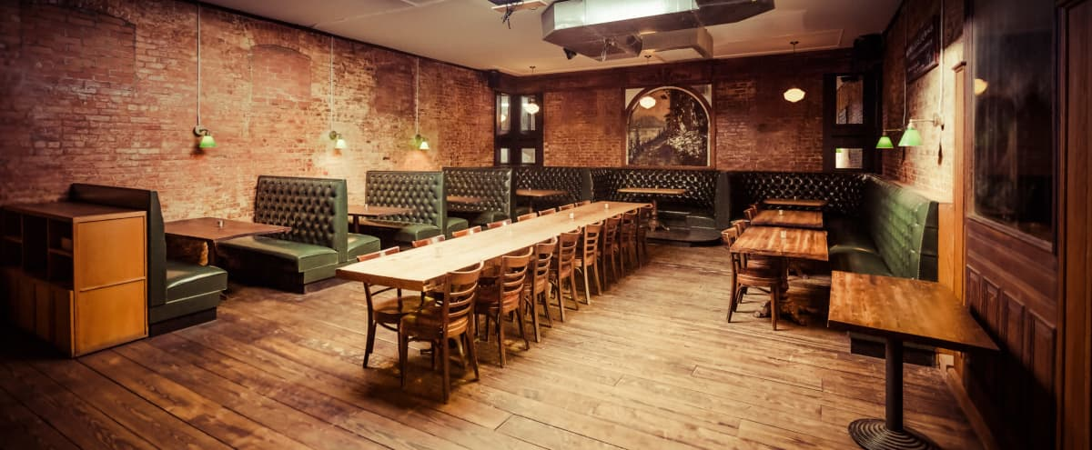 Beautiful Williamsburg Bar and Event Space with Full Kitchen in Brooklyn Hero Image in Williamsburg, Brooklyn, NY