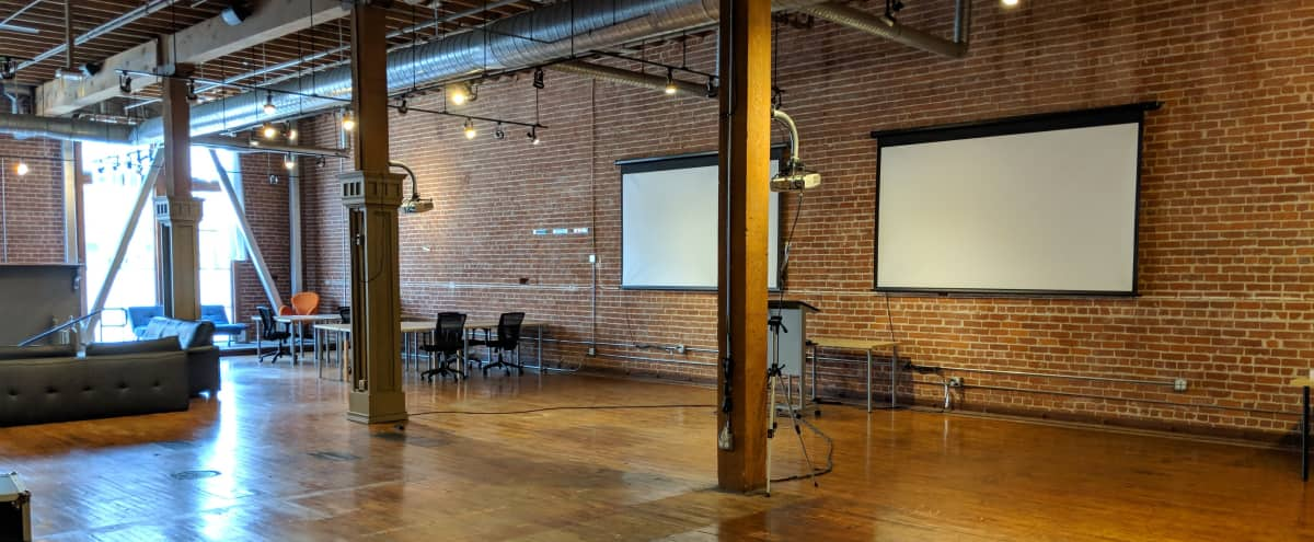 Large Brick and Timber Loft Space in SoMa in San Francisco Hero Image in South of Market, San Francisco, CA