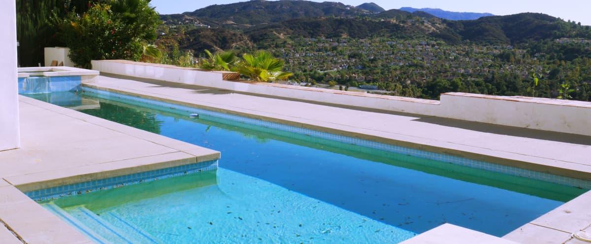 Poolside in Calabasas Hills with Picturesque Views in Calabasas Hero Image in Vista Point, Calabasas, CA