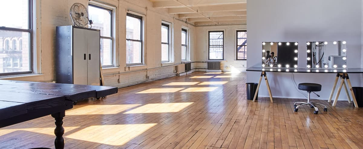 Open and Airy Event Space in Soho in New York Hero Image in Little Italy, New York, NY