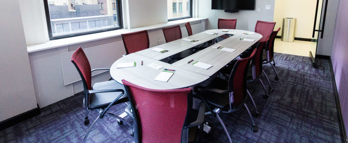 Stunning Brand New 10 person Meeting Space-Plaza District//Triple Windowed in New York Hero Image in Midtown Manhattan, New York, NY