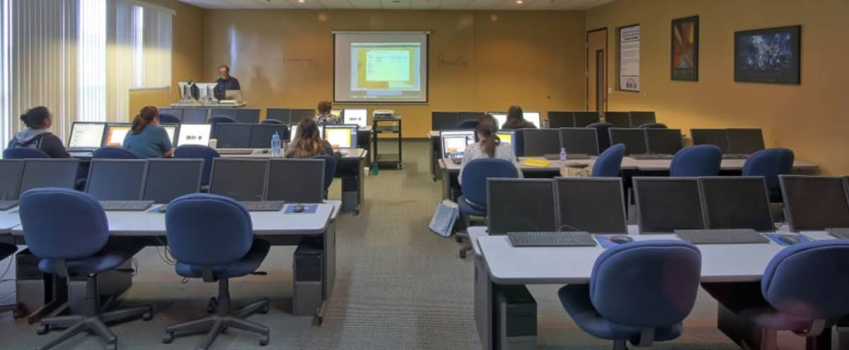 Classroom Style Work Space | Ideal for Training & Classes in San Diego Hero Image in Miramar, San Diego, CA