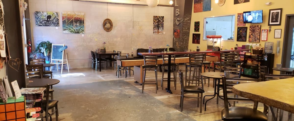 Spacious Event Space for Birthday/Anniversary Parties in Orlando Hero Image in 33rd Street Industrial, Orlando, FL