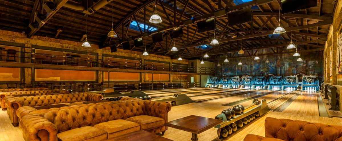 Historic Steam Punk Bowling Alley in Highland Park in Los Angeles Hero Image in Northeast Los Angeles, Los Angeles, CA