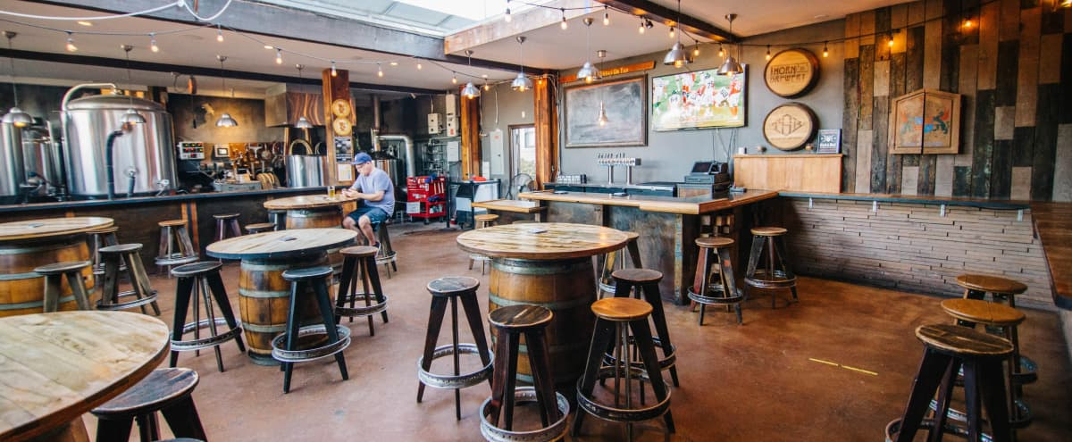 Brewery Themed Event Space Great For Any Gathering in San Diego Hero Image in North Park, San Diego, CA
