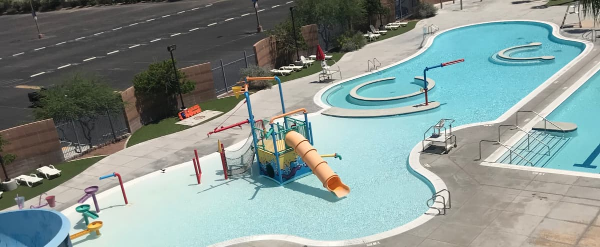 Waterpark + Pool For Your Next Big Event in Las Vegas Hero Image in Meadows, Las Vegas, NV