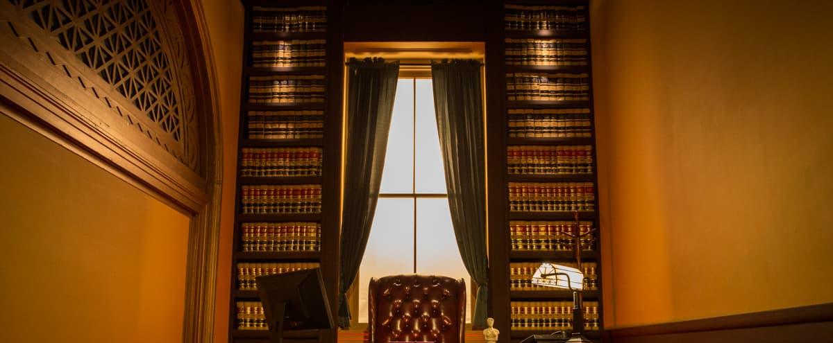 Executive Judge's Chamber Office Standing Set | FilmStudioLA in Pico Rivera Hero Image in El Rancho, Pico Rivera, CA