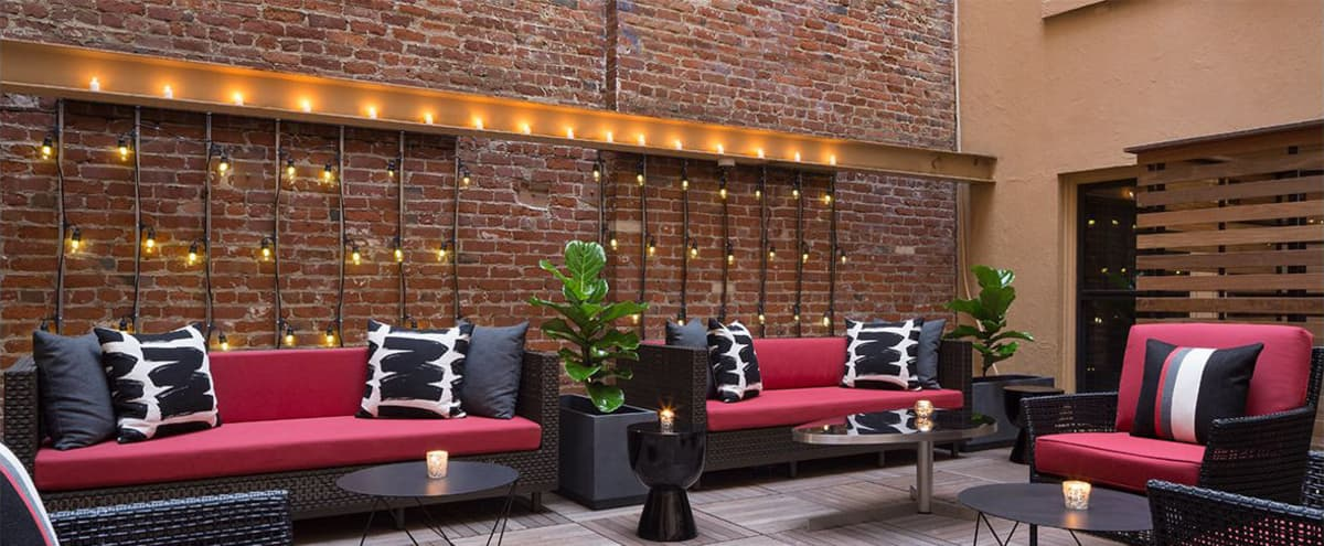 Versatile and Intimate Space with an Outdoor Patio in San Francisco Hero Image in Financial District, San Francisco, CA